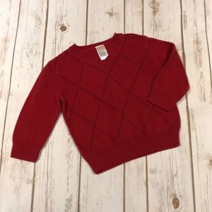 Gymboree Red Sweater 18-24 months